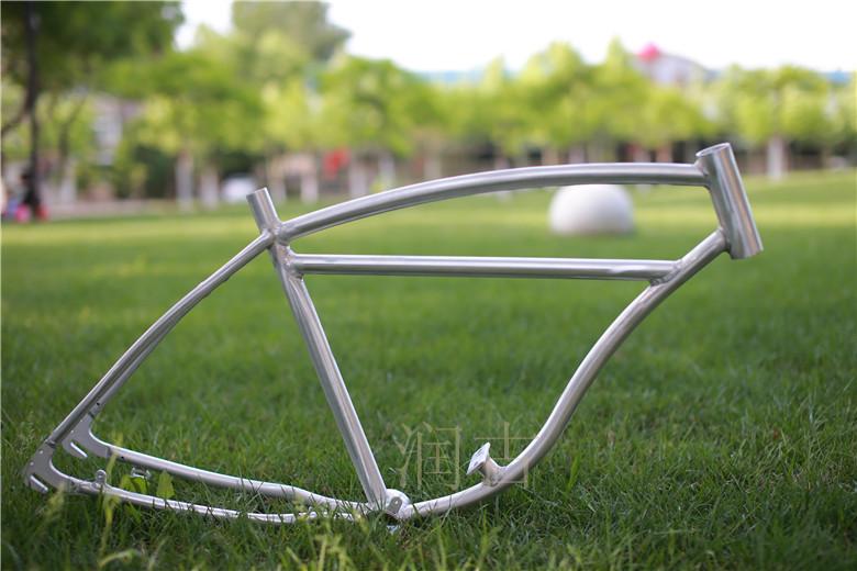 复古自行车车架