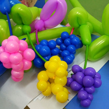 Magic balloon birthday deformed balloon, long bar, rainbow decoration, balloon wholesale, free mail, children, lots of