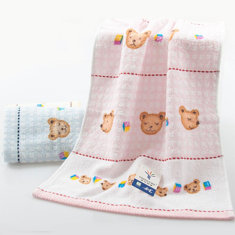 小熊圖案毛巾