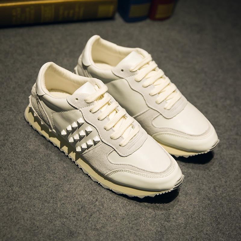 小白鞋 子低帮休闲鞋 男鞋 中国有嘻哈肖奈王俊凯易烊千玺pgone同款