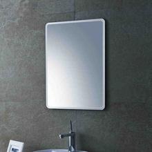 定制洗手间镜子壁挂粘贴墙免打孔卫生间化妆镜洗漱镜防水浴室镜