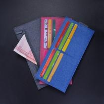 真皮卡包钱包一体包女式超薄大容量证件位卡片包多卡位小巧零钱包