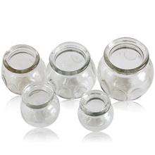 真空玻璃拔罐加厚防爆家用玻璃拔火罐1 5号医用透明玻璃火罐