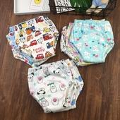 3岁婴童过渡期内裤 6层纱布布尿裤 宝宝学习裤 110码 婴儿训练裤