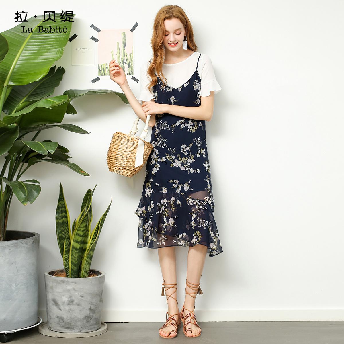 韩版女士名媛套装裙