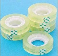 透明文具胶带宽1.2 宽小胶带/胶布/封口胶 玻璃胶手工胶