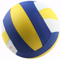 Gas volleyball No. 7 Middle-aged and old fitness standard steam volleyball adult light soft training competition special ball every day music