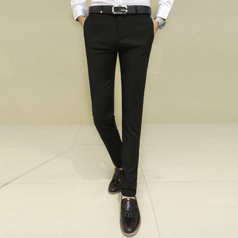黑蓝色西裤