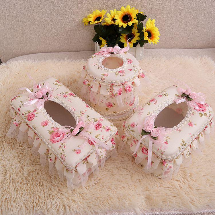 客厅纸巾盒田园