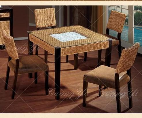藤艺椅桌椅