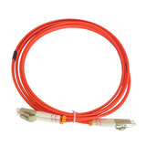 Pigtail LC-LC multimode dual core 15 m fiber patch cord double core pigtail jumper 15 m