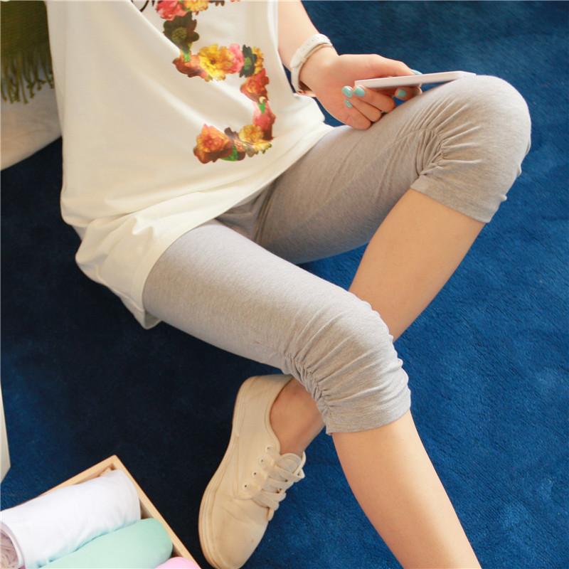 彩色糖果色小脚裤