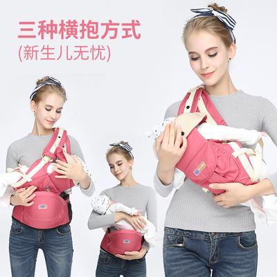 腰蹬婴儿腰凳单蹬抱孩子的多功能背带腰凳四季款新生儿抱娃神器
