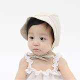 South Korea imported baby hat summer visor male and female baby fisherman hat 0-3-6 months newborn fisherman hat