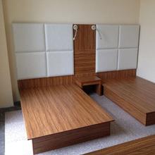 快捷商务酒店宾馆公寓旅馆家具软包床头靠板床屏箱床靠背板