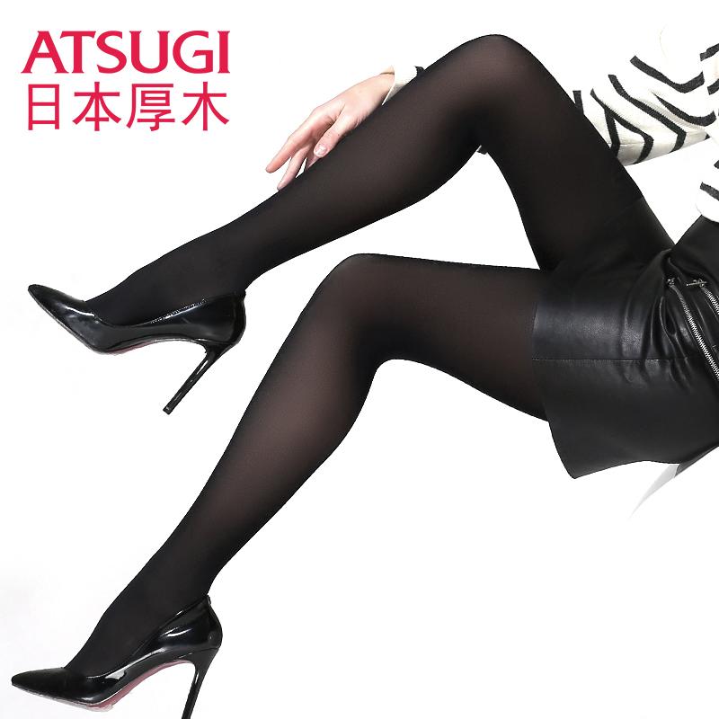 日本厚木ATSUGI两双装2017新款80D中加厚天鹅绒连裤袜丝袜日系