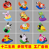 Children's day animal hats tiger sunbonnet parent-child activities cartoon headgear animal headgear props