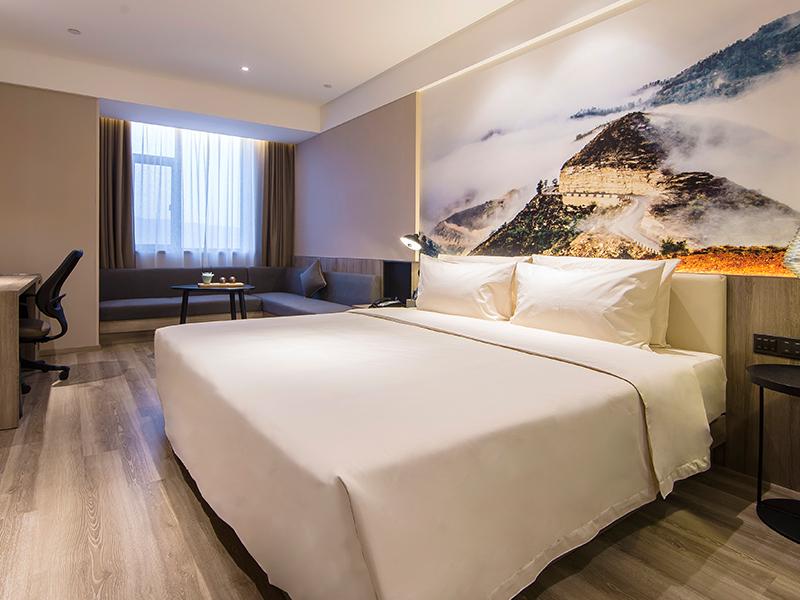 侯马新田广场亚朵酒店高级大床房