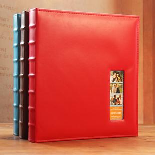 韩版皮质插页相册影集5寸6寸7寸大容量620张家庭宝宝成长商务相簿
