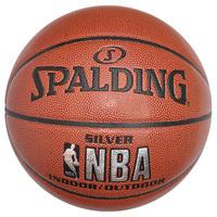 斯伯丁篮球NBA比赛用球训练学生耐磨水泥地室外74-608Y64-531篮球