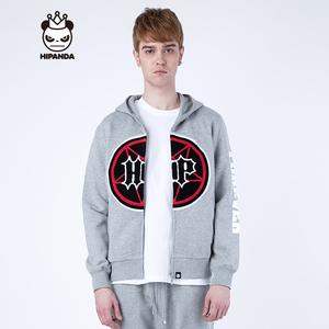 Hipanda 你好熊猫 设计潮牌 男款 HP 鲨鱼衫