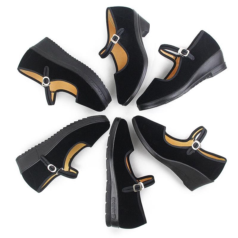 平底单鞋厚底