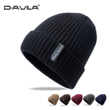 Wool cap Fall and Winter Men's and women's fashion headgear Korean version Chao Fur Thickened knitted cap warm hat couple cap
