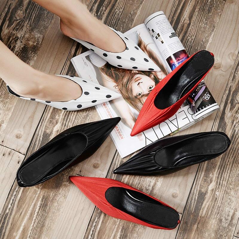红波点单鞋