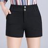 夏天黑色短裤