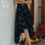 女波西米亚短裙