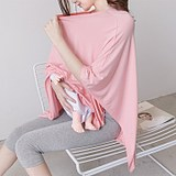 Hot mom Modal maternal postpartum breastfeeding towel shame cloth shawl smock out out cover anti-lighting clothing