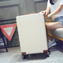 Luggage luggage suitcase card pull rod box wanxianglun 24-inch han edition men and women students small pure and fresh and check-in luggage
