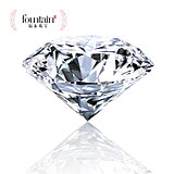 Fountain / Forte D-E natural loose diamond GIA custom 30 points -1 carats genuine marriage proposal diamond ring