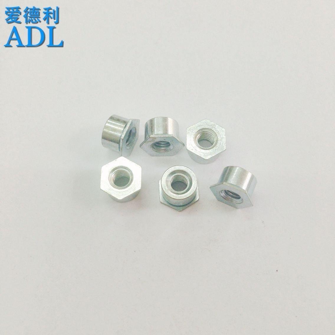 通孔压铆螺柱 螺母柱 镀锌            M4