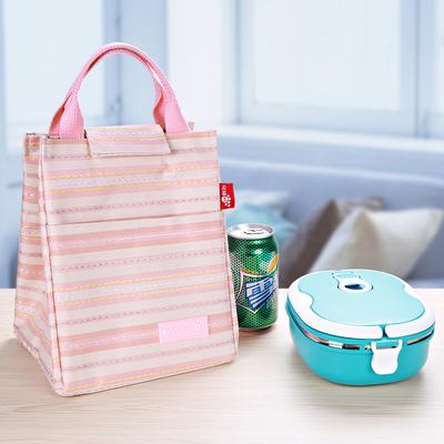 手提保温袋 大容量便当包保温饭盒袋野餐冰包饭盒包保温包便当袋
