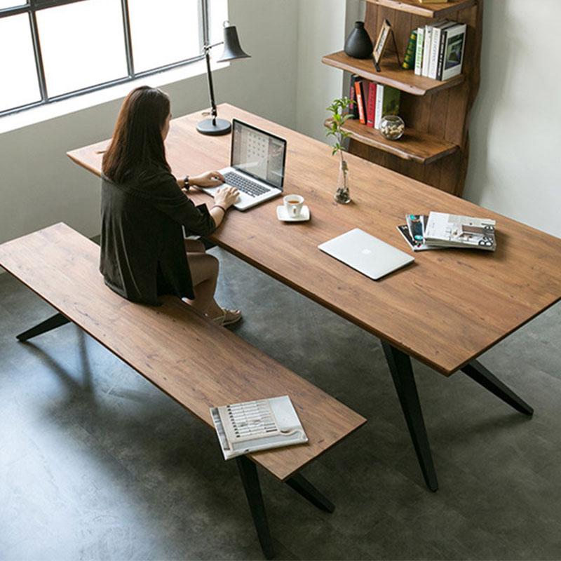 复古工业风办公桌