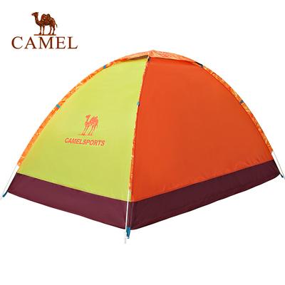 【2016新品】CAMEL骆驼户外露营双人手抛帐 单层三季双人露营帐篷