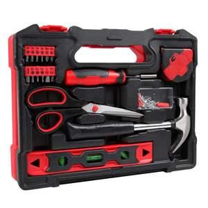 小号维修组合家用工具箱套装42件五金工具小型多功能电工