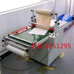 滚筒压料输送机/滚筒压料机/滚筒涂布机 贴布机