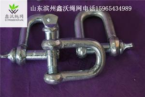 20-25卸扣弓形卸扣d形美式国标起重卸扣吊钩U型卸扣吊环卡环
