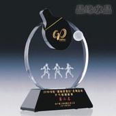 晶缘水晶 乒乓球奖杯 水晶奖杯 高档乒乓球奖杯 纪念品 创意奖杯