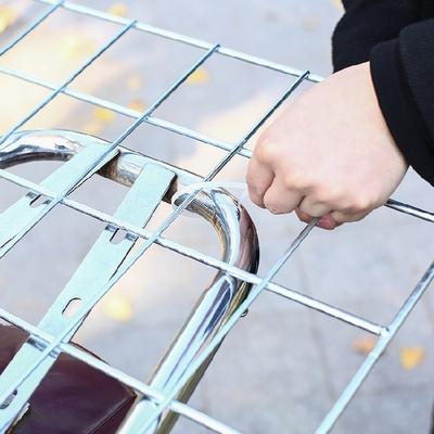 外卖箱车载架子送餐包固定架电动车载不绣钢架美团专用后座架加粗
