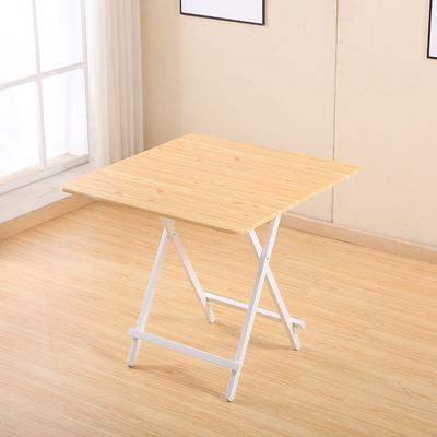 折叠桌家用桌简易户外摆摊桌小户型简约小圆饭桌子便携小正方餐桌
