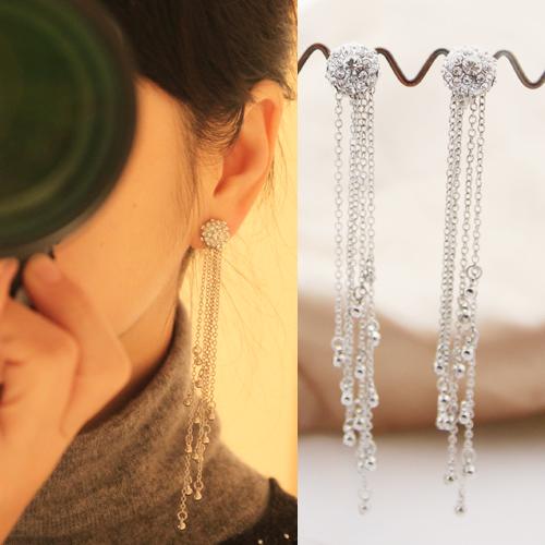 韩式婚礼耳夹