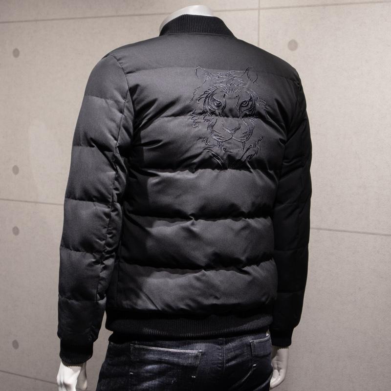 男士外套冬季新款个性潮流短款帅气棉衣面包服男韩版加厚棉袄