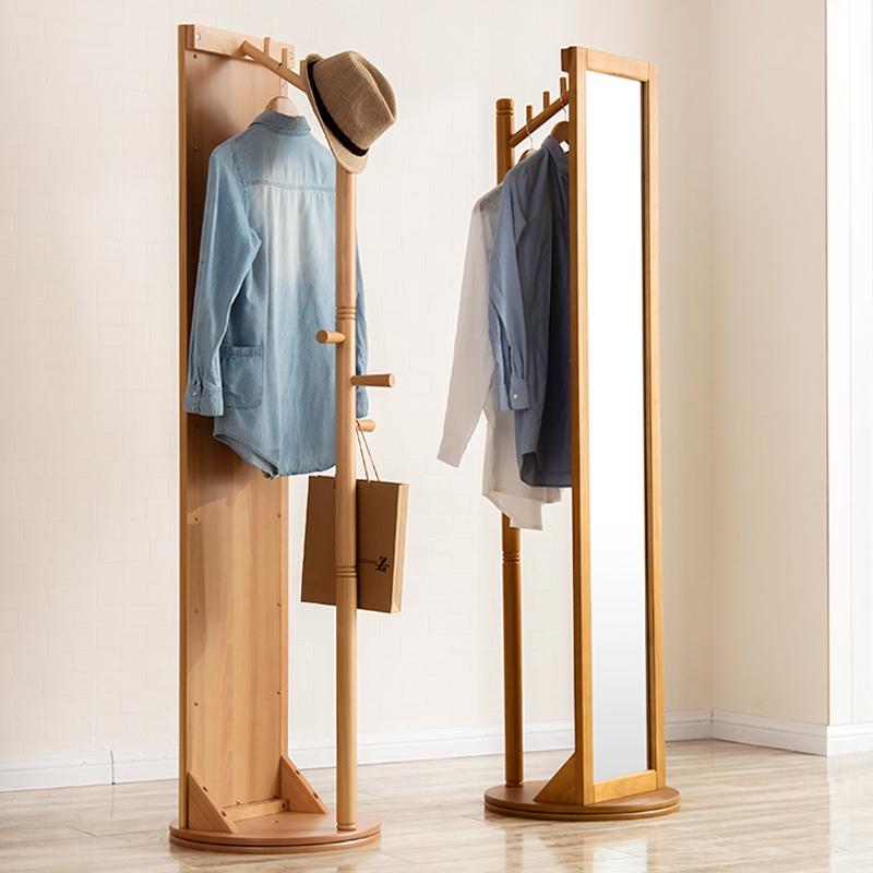实木穿衣镜 柜