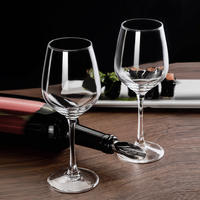 Green apple red wine glass set home crystal grape cup holder European decanter glass goblet glass 2