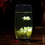 19 new tea spot master class 蜀茗 Run snow jasmine tea premium incense authentic seven Qichuan tea 250G