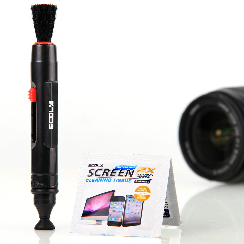 宜客莱ECOLA 数码单反相机镜 清洁笔 清洁刷 清理工具 送清洁湿巾
