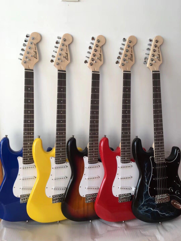 白色款电吉他